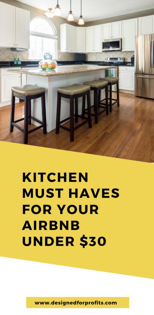 airbnb kitchen list