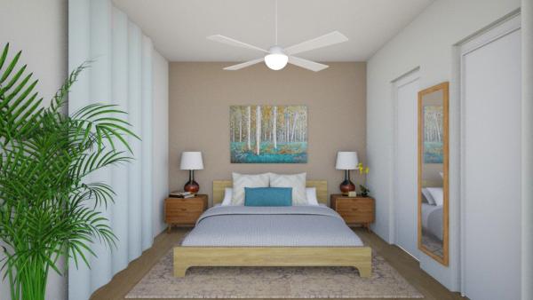 airbnb decor render