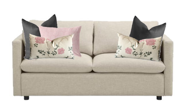 couch accent pillows