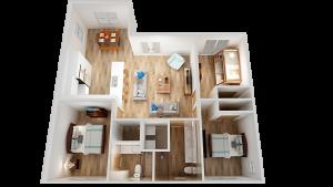 airbnb listing floor plan